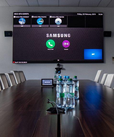 Veľkoformátová LED obrazovka