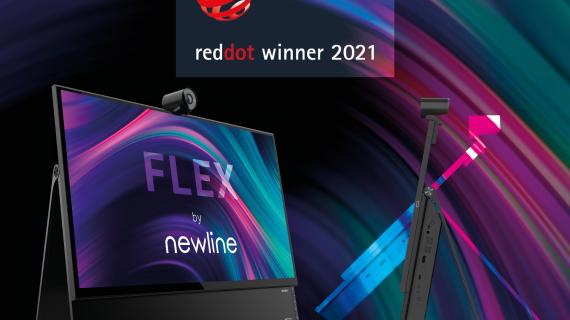 Newline Flex získal ocenenie Red Dot Award