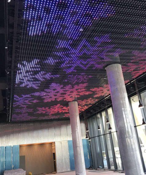 LED stropná sieť
